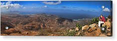 Cape Verde Panorama Acrylic Print by David Smith