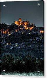 Capestrano Abruzzo Italy Acrylic Print by Tom  Doherty