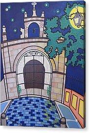 Capilla Del Cristo Acrylic Print by Mary Tere Perez