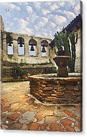 Capistrano Fountain Acrylic Print