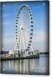 Capital Ferris Wheel Acrylic Print