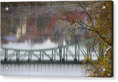 Capital Reflection Acrylic Print