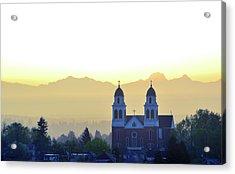 Capitol Hill Sun Up Acrylic Print