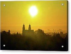 Capitol Hill Sunrise   Acrylic Print