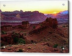 Capitol Reef Sunrise Acrylic Print