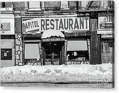 Capitol Restaurant Acrylic Print