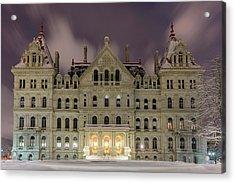Capitol Snow Acrylic Print
