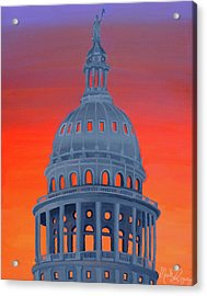 Capitol Warmth Acrylic Print