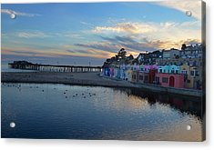 Capitola In October Acrylic Print