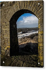 Cappagh Pier And Ireland's Shannon Estuary Acrylic Print