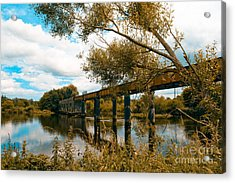 Cappaquin Railway Bridge Acrylic Print