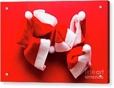 Capping Off A Merry Christmas Acrylic Print by Jorgo Photography - Wall Art Gallery