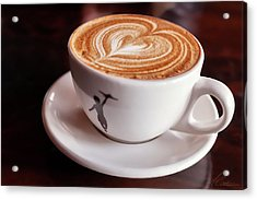Acrylic Print featuring the photograph Cappuccino by Anthony Citro