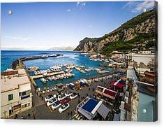 Capri Harbor Acrylic Print