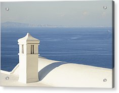 Acrylic Print featuring the photograph Capri by Silvia Bruno