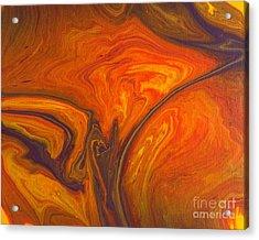 Capriccio Arancione Acrylic Print