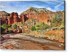 Caprock Canyon Acrylic Print