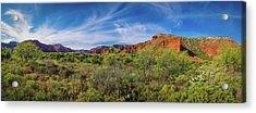 Caprock Canyon Panorama 2 Acrylic Print