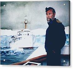 Capt Derek Law Acrylic Print