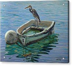 Capt. G. B. Heron Acrylic Print by Otto Trott