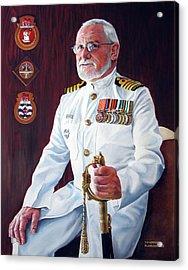 Capt John Lamont Acrylic Print