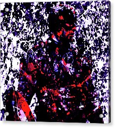 Captain America 7b Acrylic Print by Brian Reaves