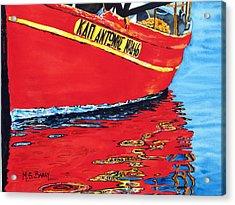 Captain Andonis Acrylic Print