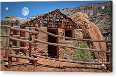 Captain Henry A. Smith's Cabin Acrylic Print by Janice Rae Pariza