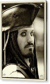 Captain Jack Sparrow Acrylic Print by David Patterson