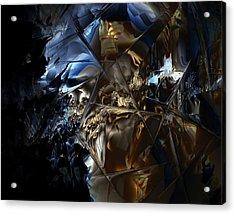 Acrylic Print featuring the digital art Captain Jack by Vadim Epstein
