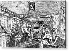 Captain Kidd Club Acrylic Print