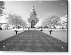 Captiol Ir Acrylic Print by John Gusky