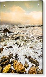 Captivating Coastal Sunrise Acrylic Print by Jorgo Photography - Wall Art Gallery