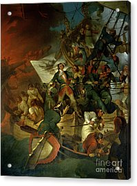 Capture Of Azov Acrylic Print by Sir Robert Kerr Porter