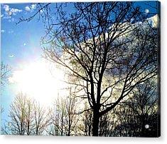 Capturing The Morning Sun Acrylic Print