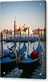 Capturing Venice  Acrylic Print by Carl Jackson