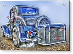 Car 54 Rear Acrylic Print