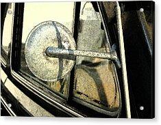 Car Alfresco I Acrylic Print by Kathy Schumann