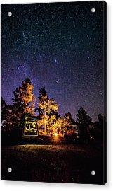 Car Camping Acrylic Print