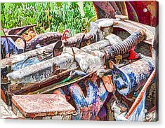 Car Engine Acrylic Print
