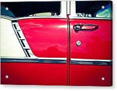 Car No.6 - Perfect Proportions Acrylic Print