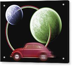 Car Space  Acrylic Print