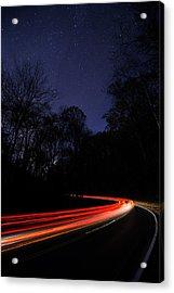 Car Trails Acrylic Print