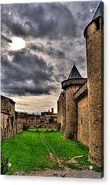 Carcassonne Castle Acrylic Print by Gareth Davies