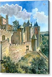 Carcassonne Acrylic Print