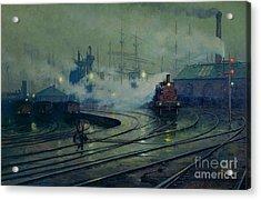 Cardiff Docks Acrylic Print