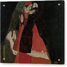 Cardinal And Nun  Acrylic Print