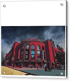 @cardinals @stlramscheer @carriestlouis Acrylic Print