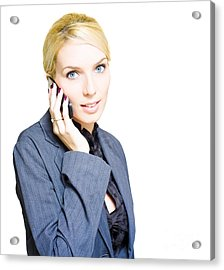 Career And Job Employment Acrylic Print by Jorgo Photography - Wall Art Gallery