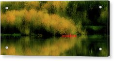 Carefree Afternoon Acrylic Print by Bonnie Bruno